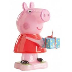 bougie Peppa Pig - 6.50 cm - Dekora