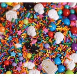 "Décorations en sucre sprinkles ""DIA DE LOS MUERTOS"" - 100g - Fancy Sprinkles"