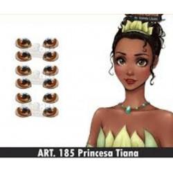 """yeux adhésifs 3D en résine """"M"""" - 185 - 12 paires - Mariela Lopez"""