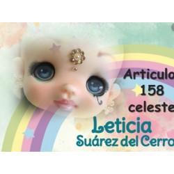 """yeux adhésifs 3D en résine """"M"""" - 158 - 12 paires - Mariela Lopez"""