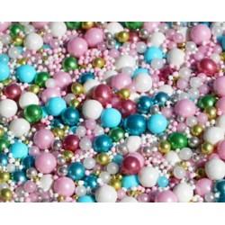 """Décorations sprinkles """"SLAY BELLS"""" - 100g - Fancy Sprinkles"""