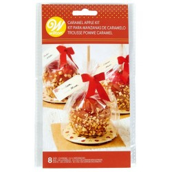 "Kit ""caramel apple"" - 8 pieces - Wilton"