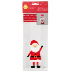 20 Christmas bags - santa claus - Wilton