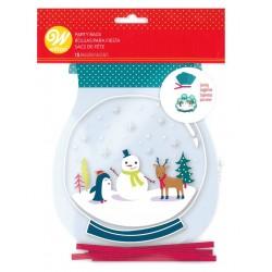 "15 Christmas bags - ""snowy landscape"" - Wilton"