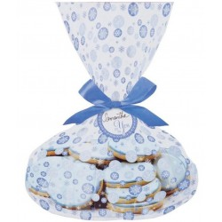 3 trays and cookie bags - snowflakes - Wilton