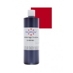 "Americolor colorant alimentaire concentré couleur ""super red / super rouge"" 383g"