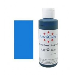 "Americolor concentrated edible coloring color ""electric blue"" 4.50oz"