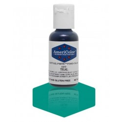 "Americolor concentrated edible coloring color ""teal"" 0.75oz"