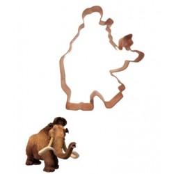 """Emporte-pièce L'âge de glace """"Manny le mammouth"""" - 12 cm - SK"""