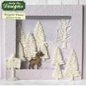 fir trees silhouettes - Katy Sue
