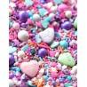 "Sugar decoration sprinkles - ""Textual"" - 100g - Fancy Sprinkles"