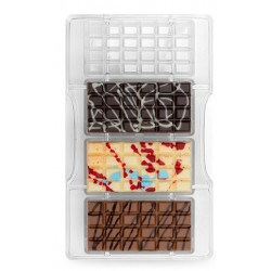 "chocolate mold ""classic tablet"" - Decora"