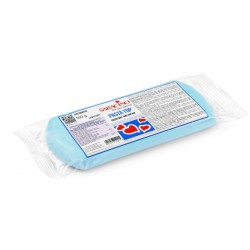 "Pâte à sucre ""Pasta Top"" light baby blue - 500g - Saracino"