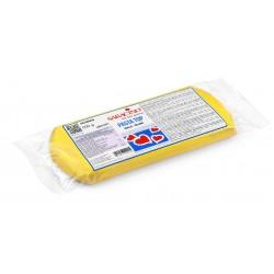 "Pâte à sucre ""Pasta Top"" jaune - 500g - Saracino"