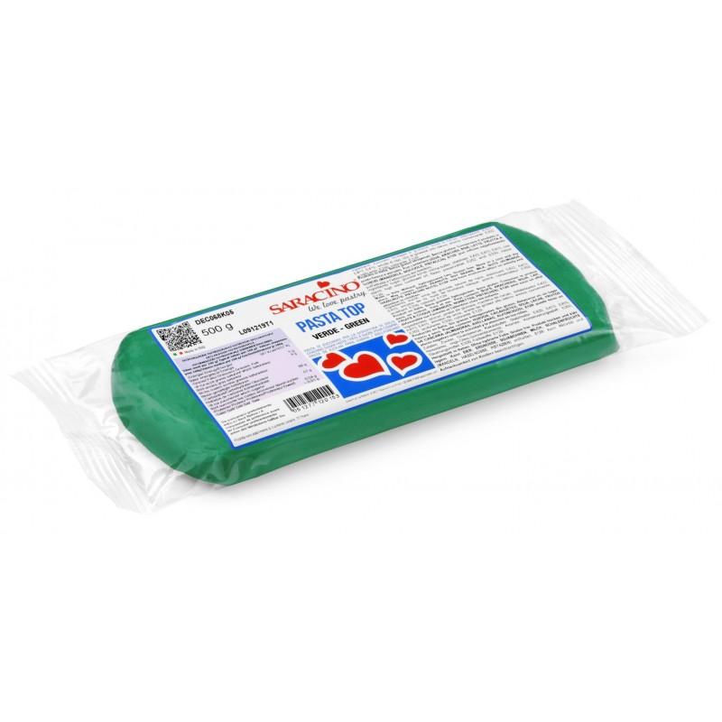 "green ""Pasta Top"" sugar paste - 500g - Saracino"