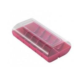 boîte pour 12 macarons - fuchsia - Silikomart