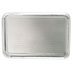 catering tray - silver