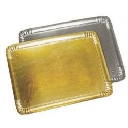 catering tray - golden