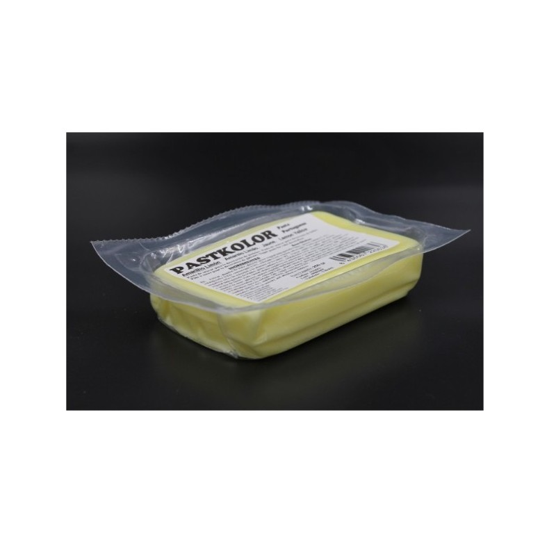 PROMO Sugar paste amarelo limon / pastel yellow - 250g - Pastkolor