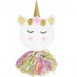 piñata - tête licorne - ScrapCooking