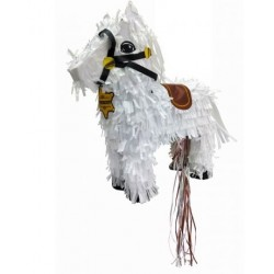 piñata - cheval de cow boy - ScrapCooking