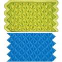 """Moule texture """"lavish loops simpress"""" / goutte géométrique - Marvelous Molds"""