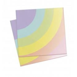 20 serviettes - licorne - ScrapCooking