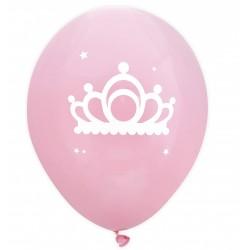 6 balloons - princess - ScrapCooking