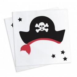 20 napkins -  pirate - ScrapCooking