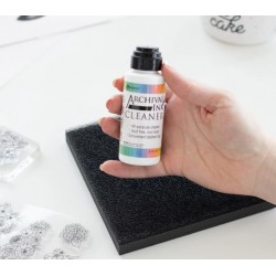 stamp cleaning solution