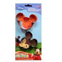 2 emporte-pièce Mickey Mouse - 6,35 x 7,62 cm - CCutter