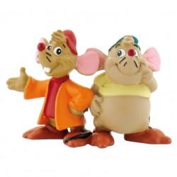 Figurine - Gus et Jack - Cendrillon