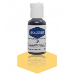 """Americolor concentrated edible coloring color """"gold"""" 0.75oz"""