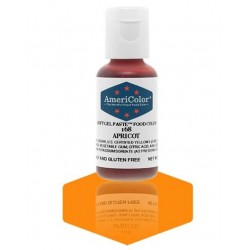 "Americolor concentrated edible coloring color ""apricot"" 0.75oz"