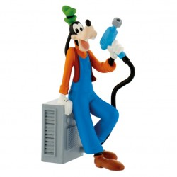Figurine - Racing Pilote Goofy - Mickey Mouse
