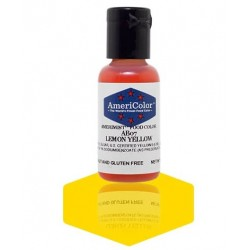 "Amerimist concentrated edible coloring color ""lemon yellow"" 0.65oz"