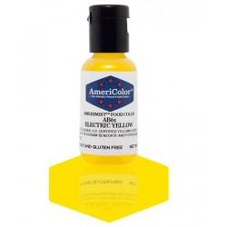 """Amerimist colorant alimentaire concentré couleur """"electric yellow / jaune électrique"""" 18g"""