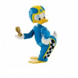 Figurine - Pilote de course Donald Duck - Mickey Mouse