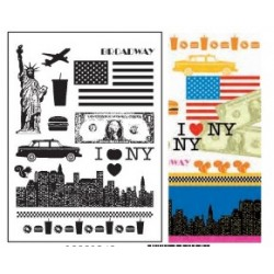 clear stamp - New York - Artemio