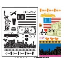 tampon transparent - New York - Artemio