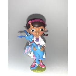 Figurine - Dr. la peluche avec Toufy - Docteur La Peluche