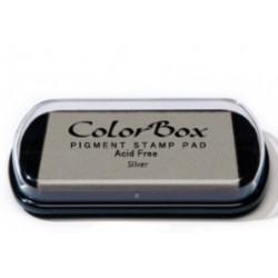 encreur colorbox - silver - 10 x 6,3 cm