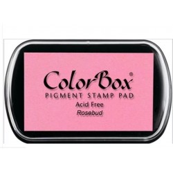 encreur colorbox - rosebud - 10 x 6,3 cm