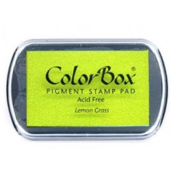 colorbox inkpad - lemon grass - 10 x 6,3 cm