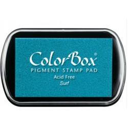 encreur colorbox - surf - 10 x 6,3 cm