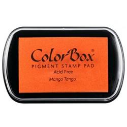 encreur colorbox - mango tango - 10 x 6,3 cm