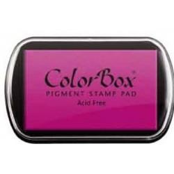encreur colorbox - framboise - 10 x 6,3 cm