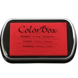 encreur colorbox - classic pigment - pastèque - 10 x 6,3 cm