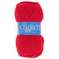 Pelote de laine Azurite - rouge