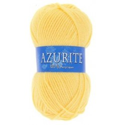 Azurite wool ball - yellow